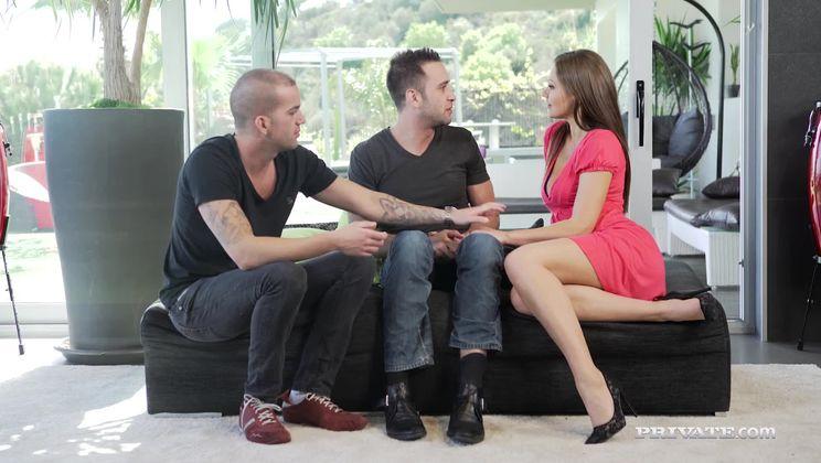 Milf Tina Kay Gets DP During Orgy with Blonde Arteya