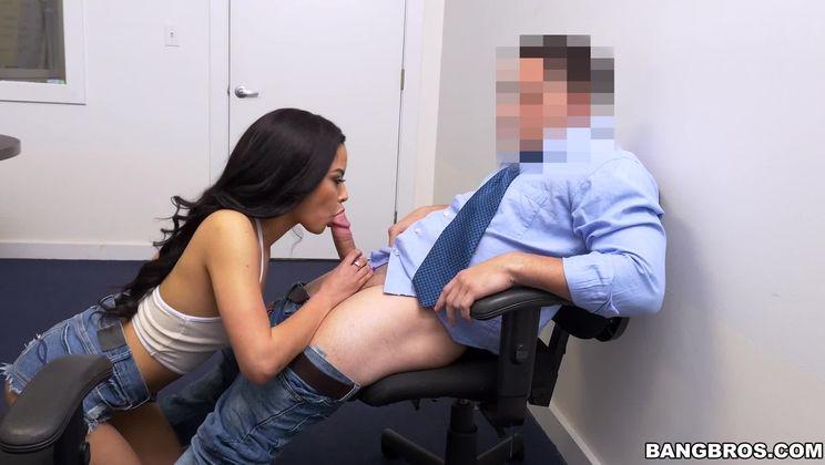 Maya Bijou sucks and fucks so damn good